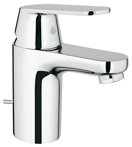 Grohe 32875000 Eurosmart Cosmo Centerset Lavatory Faucet, Chrome - Grohe Bathroom Sink