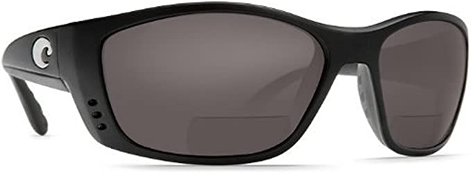Costa del Mar Isabela C-Mates 2.5 Polarized Sunglasses Black//Blue 580P Bifocal