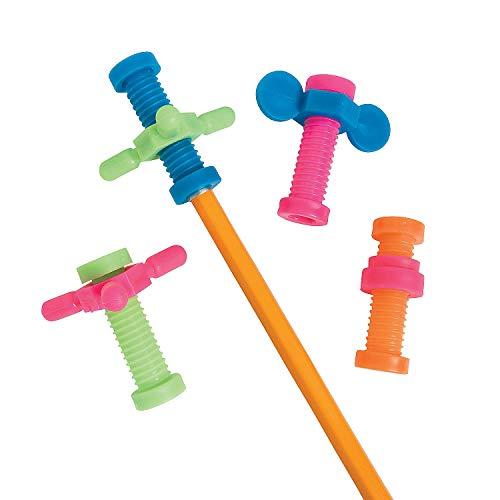 Fun Express Gadget Pencil Toppers (4 Dz) - Stationery - Pencil Accessories - Misc Pencil Accessories - 48 Pieces]()