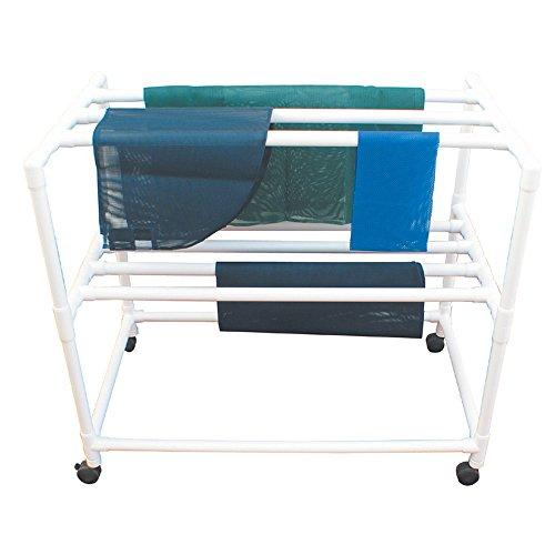 "MJM International 3DR Drying Rack, 60 fl oz, 48"" Height x 53"