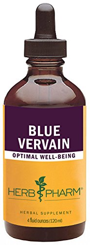 (Herb Pharm Certified Organic Blue Vervain Liquid Extract - 4 Ounce)