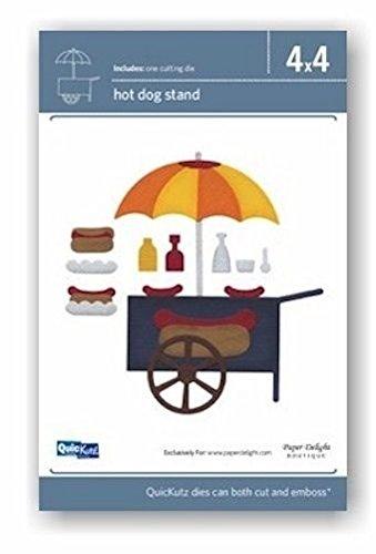 QuicKutz 4x4 Hot Dog Stand Die