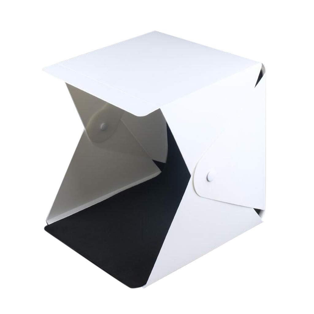 KNDDY Photography Table Top Light Box LED Portable Mini Photo Studio Shooting Tent - The Best Small Folding Product Lighting Kit Light Box Tent by KNDDY
