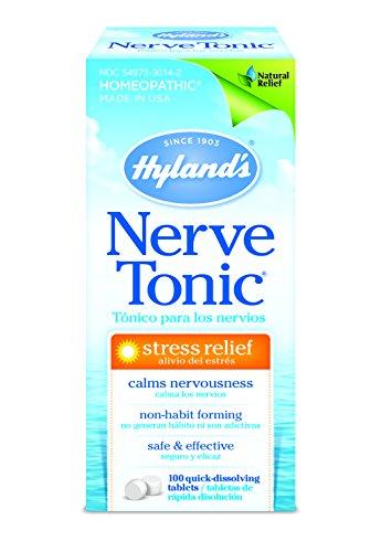 Nerve Tonic stress Soulagement pour Hyland, 100 Comprimés
