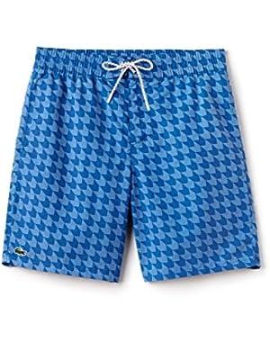 Men's Blue Swim Shorts