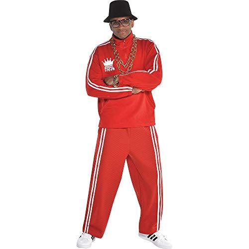 Run Dmc Halloween Costumes Shoes - amscan Hip Hop Tracksuit Halloween Costume
