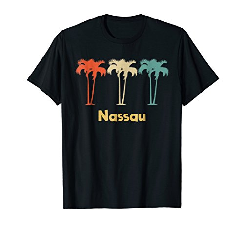 Nassau Bahamas Vintage Retro T-Shirt Vacation