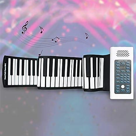 ZXL 88 Key Profesión Hand Roll Piano, Teclado Electrónico ...