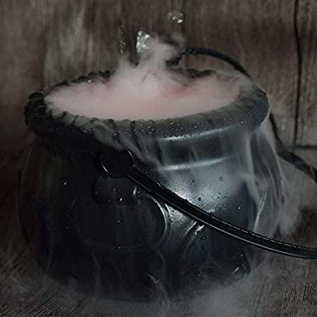 Holidays FIFPE Halloween Mist Maker Mini Size Mister Fogger Water Fountain Pond Fog Machine//Smoke Fog Machine for Halloween Color Changing Party Prop Party