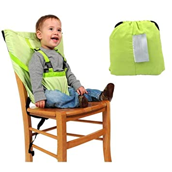 Strange Green Washable Portable Baby Chair Belt Travel Baby Chair Harness 6 30 Months Kid Toddler Safety Seat Gmtry Best Dining Table And Chair Ideas Images Gmtryco