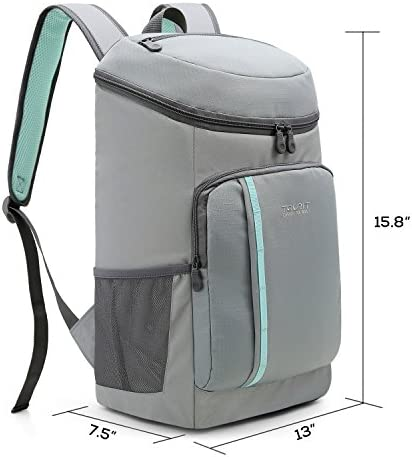 TOURIT Cooler Backpack 30 Cans Lightweight Insulated Backpack Cooler Leak-Proof Soft Cooler Bag Large Capacity for Men Women to Picnics, Camping, Hiking, Beach, Park or Day Trips 7