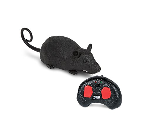 World Tech Toys Rat Infrared Remote Control Critter, Grey, 8 x 2.5