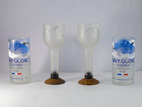 Grey Goose COCKTAIL/WINE & BEER glass Set