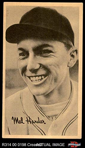 1937 Goudey Wide Pen CR Mel Harder Cleveland Indians (Baseball Card) (Creamy Paperstock/No USA on Bottom Right Border) Dean's Cards 2 - GOOD Indians