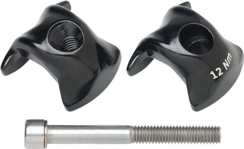 Ritchey WCS One-Bolt Alloy Clamp Kit Fizik Carbon, 7x9.6mm by Ritchey