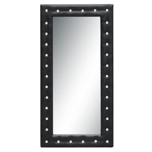 Fine Mod Imports FMI10160-black Tufted Mirror, 36