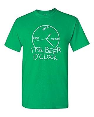 Beer O'Clock Funny Drinking St. Patrick's Day Irish T-Shirt