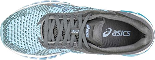 ASICS Womens Gel-Quantum 360 cm Running Shoe Corydalis Blue/Carbon/Aluminum iU9TvhXf