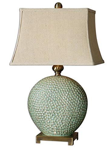 Uttermost 26807 Destin Lamp, Brushed Coffee Brnze