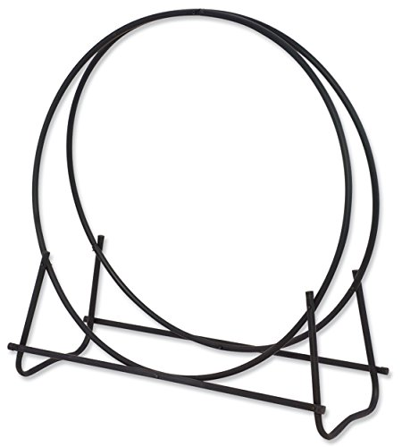 Diameter Hoop Log - Uniflame W-1881 Black 40-Inch Diameter Tubular Log Hoop