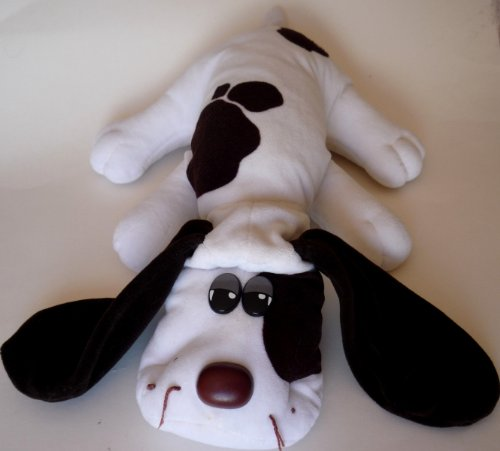 (Vintage Pound Puppies Large 17 Inch Long-Eared White and Brown Dog)