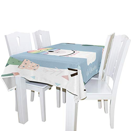Amazon com: SUABO Tablecloths for Rectangle Oblong Tables