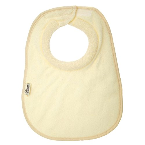 Tommee Tippee Closer to Nature Milk Feeding Bib, Cream, Small (Bib Cream)