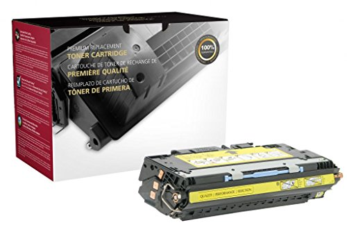 Fine Line Printing -Compatible for HP 311A - Yellow - Q2682A Compatible Toner Cartridge (6000 pgs)