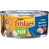 Purina 6 Cans of Friskies wet cat food 5.5oz ea (Pate Ocean Whitefish &