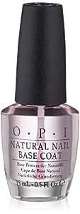 OPI Nail Lacquer Base Coat, Natural Nail, 0.5 fl. oz.