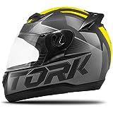 Pro Tork Capacete Evolution G7 58 Preto/Amarelo