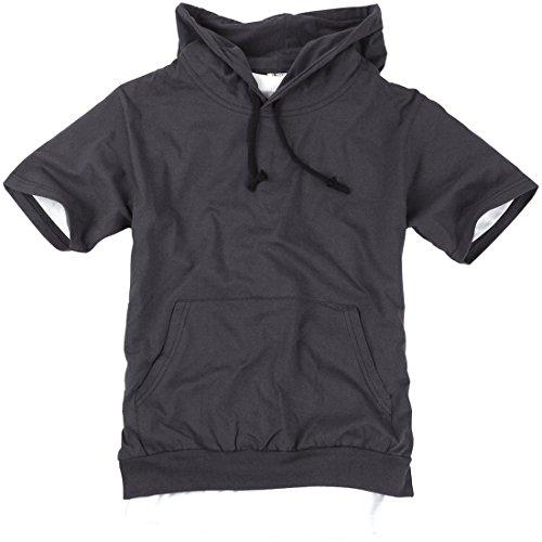 Short Sleeve Mens Hoodie