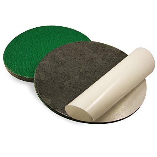 9 Inch 100 Grit Adhesive Back Metal Grinding Zirconia Sandin