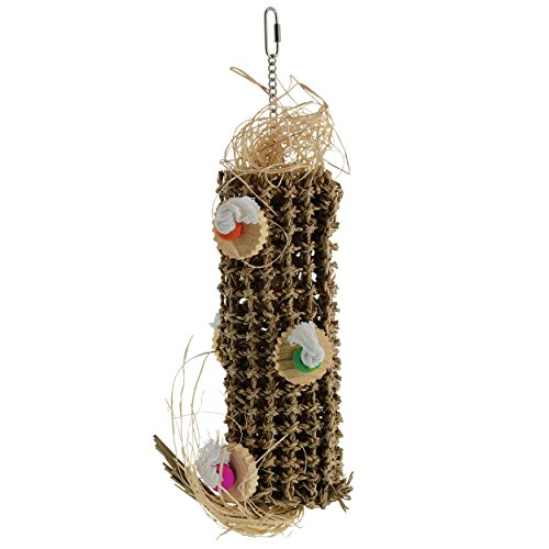 Penn Plax, Bird Life, Natural Weave Kabob Bird Toy, 21''H