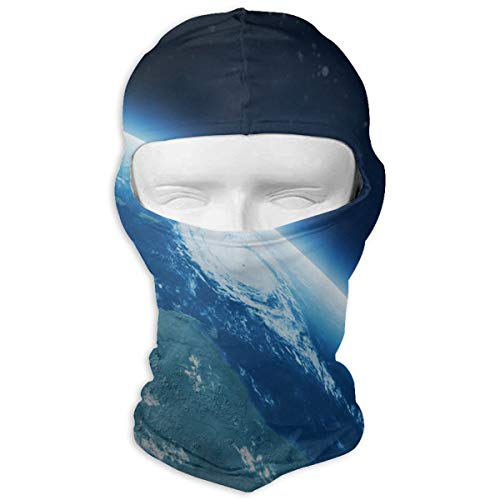 Balaclava Earth Blue Full Face Masks Ski Headcover Motorcycle Hood For Cycling Sports Snowboard