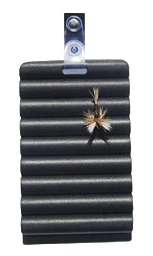 Kingfisher Foam Fly Patch with Vest Clip