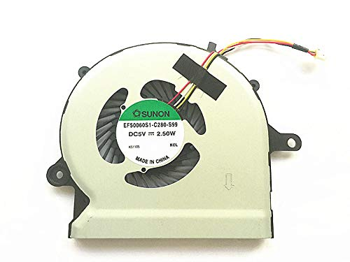 New Laptop CPU Cooling Fan Compatible with Acer R3-471T R3-471TG R3-431T EF50060S1-C280-S99