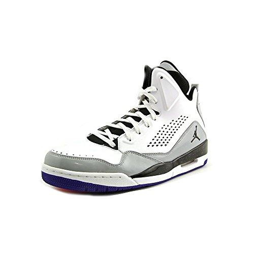 Jordan Nike Herren SC-3 Basketballschuh Weiß / Schwarz-Wolf Grau-dunkle Übereinstimmung