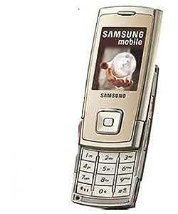 Samsung SGH-E900 - Teléfono móvil tribanda (GPRS y organizador), color dorado