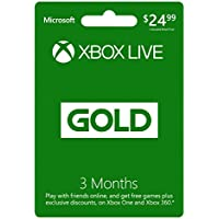 Deals on 6-Months (3-Mo. + Bonus 3-Months) Xbox Live Gold Membership