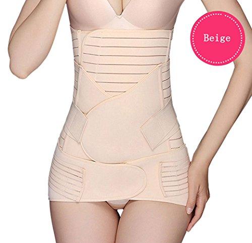 fitnesssun-3-in-1-postpartum-support-recovery-belly-waist-pelvis-belt-shapewear-girdle-breathable-el