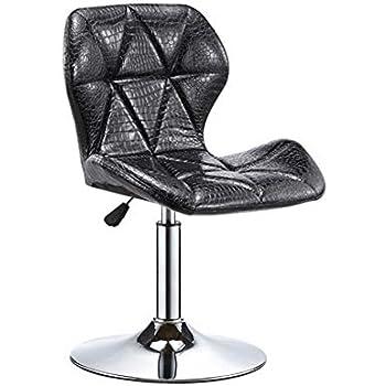 Peachy Amazon Com Cjc Bar Stool Chair Backrest Adjustable Chrome Inzonedesignstudio Interior Chair Design Inzonedesignstudiocom