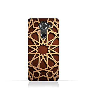 AMC Design BlackBerry DTEK 60 TPU Silicone Case with Arabic Geometric Pattern