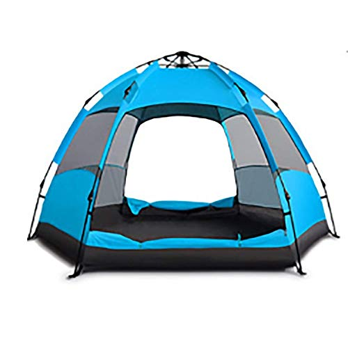 NILINLEI Automatic Tent for Indoor and Outdoor Camping Portable Sun Shade Waterproof Windproof Backpack, 240 240 135cm