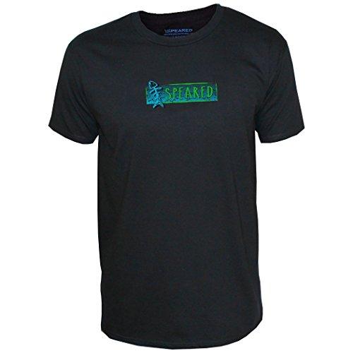 Speared Men's Spearman Short Sleeve T-Shirt X-Large Black