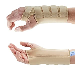 Actesso Beige Wrist Support Brace - Carpal Tunnel Splint - Provides Pain Relief from Carpel Tunnel Syndrome, Sprains and… 14