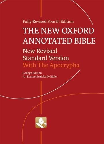 The New Oxford Annotated Bible with Apocrypha: New...