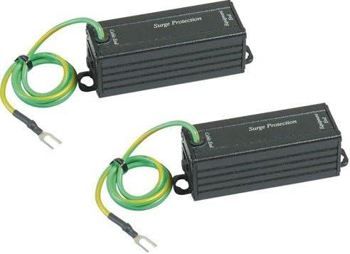 L-com HGLN-CAT6J Gigabit 1000 Base-T Shielded PoE Compatible Lightning Protector