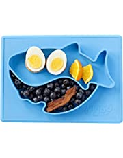 Baby Shark placemat/Plate by Nyloo -The Baby store, for Babies and Toddlers Over 6 Months, Made Out of FDA Approved Silicone