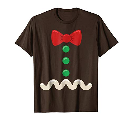 Gingerbread Man Christmas Costume T-Shirt]()